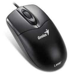 MOUSE GENIUS NS 200 LASER PS2 BLACK GAMING